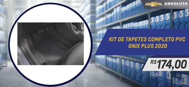 Kit De Tapetes Completo Pvc - Onix Plus 2020 - Original GM
