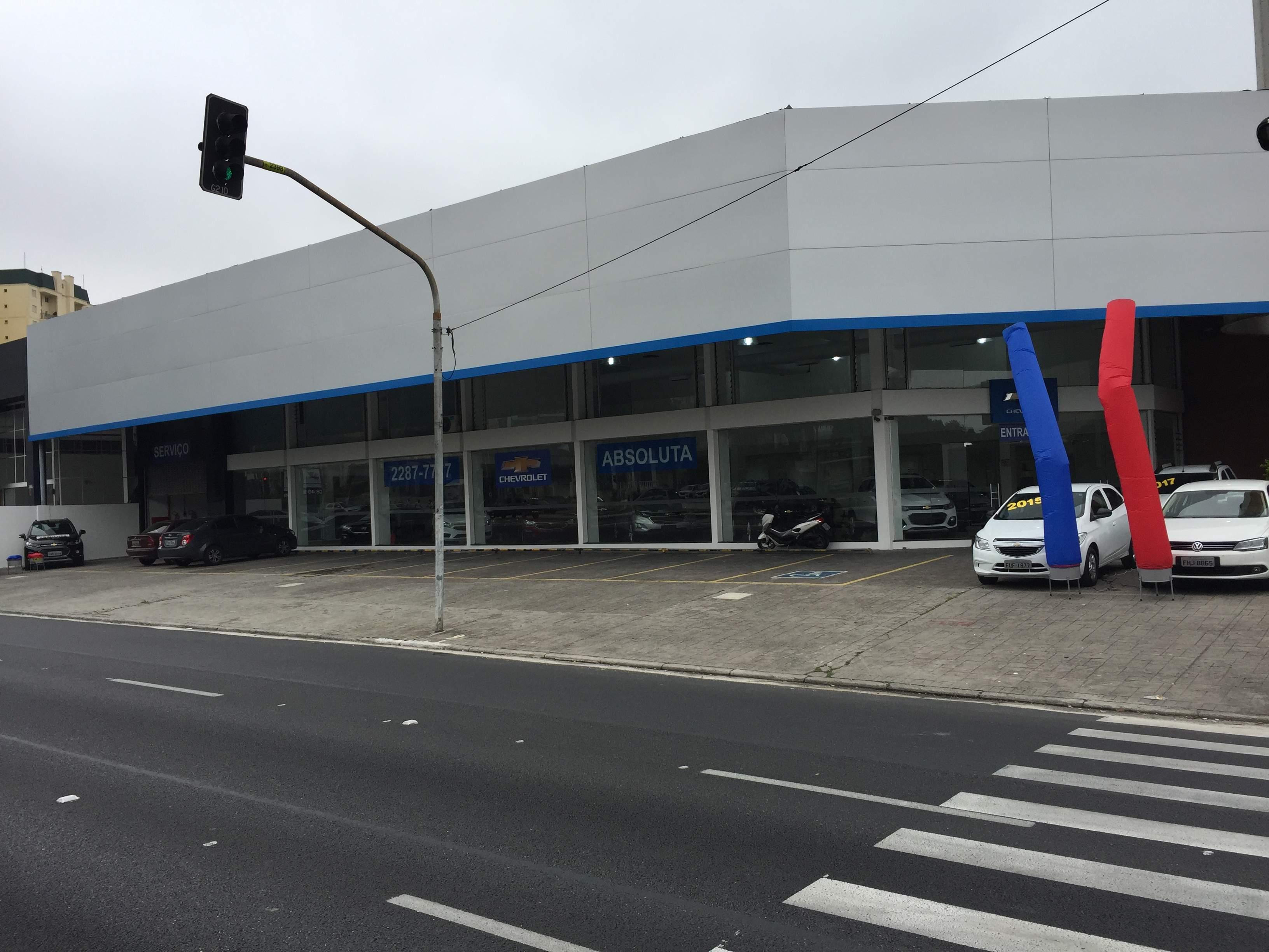 Fachada concessionária Chevrolet Absoluta Santana