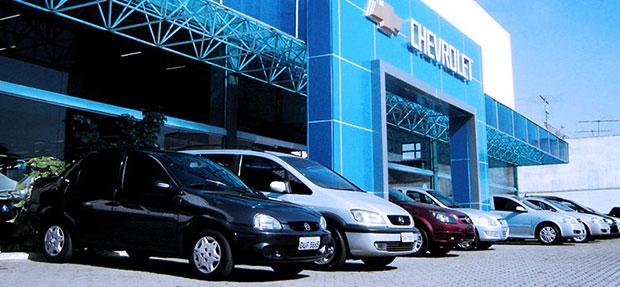 Fachada concessionária Chevrolet Absoluta