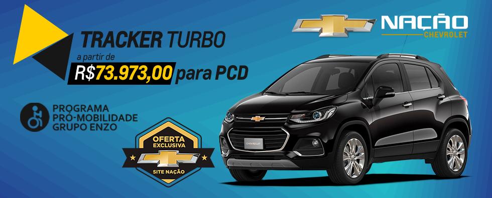 Banner Tracker Turbo PCD desconto Nação