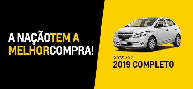 Onix Joy 2019 completo é na Nação!