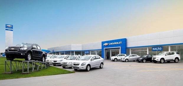 Fachada concessionária Chevrolet Nação