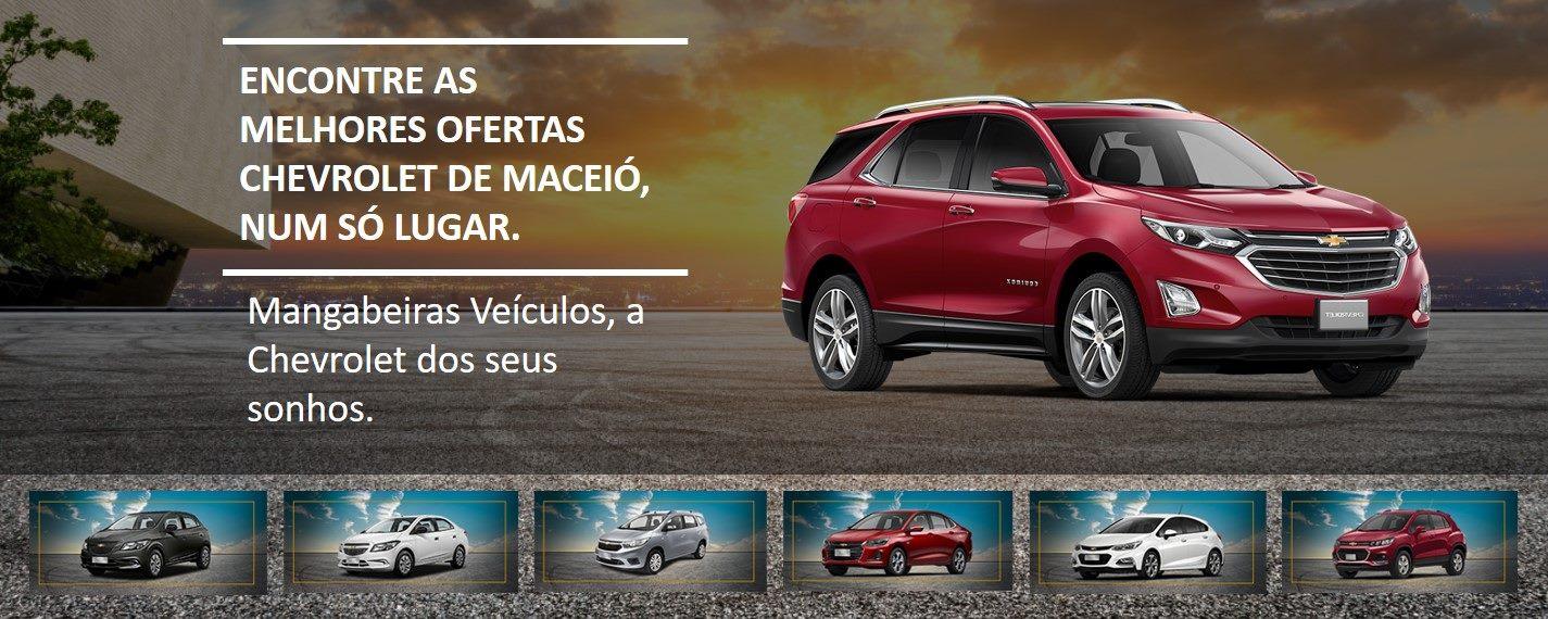Mangabeiras Veículos, a Chevrolet dos seus sonhos.