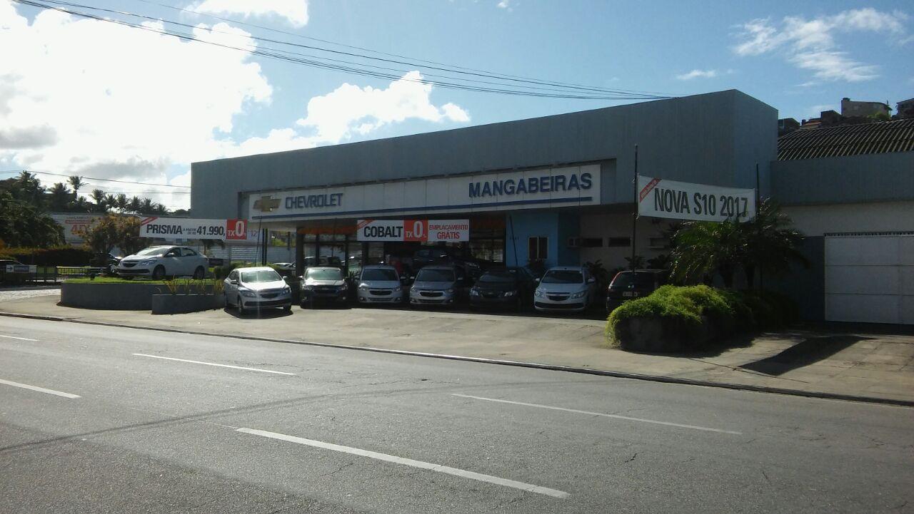 Fachada concessionária Chevrolet Mangabeiras