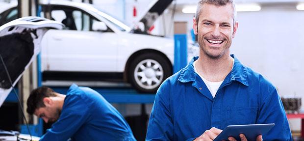 Serviços de manutenção e reparo para revisão de carros na concessionária Chevrolet Mangabeiras