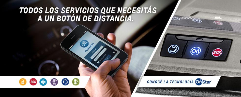 Tecnología OnStar de Chevrolet