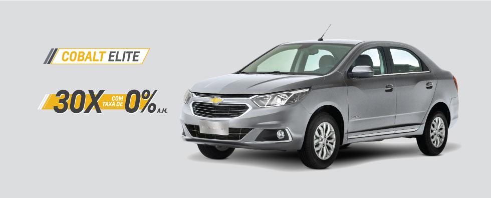 Cobalt Elite em 30X com taxa 0% a.m.