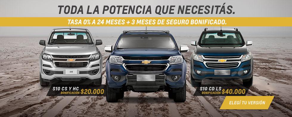 Oferta S10 CS y HC Chevrolet Deliauto