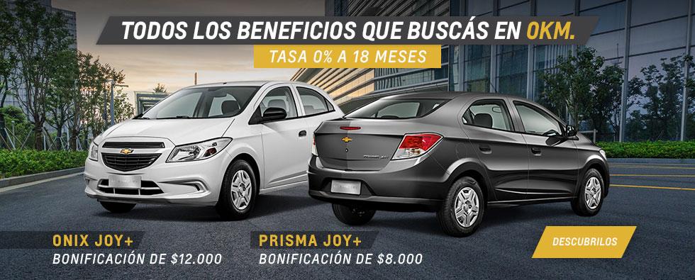 Chevrolet Onix Joy - Prisma Joy