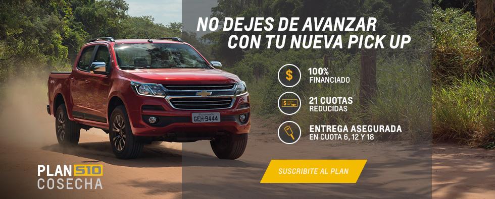 Plan Cosecha para Chevrolet S10
