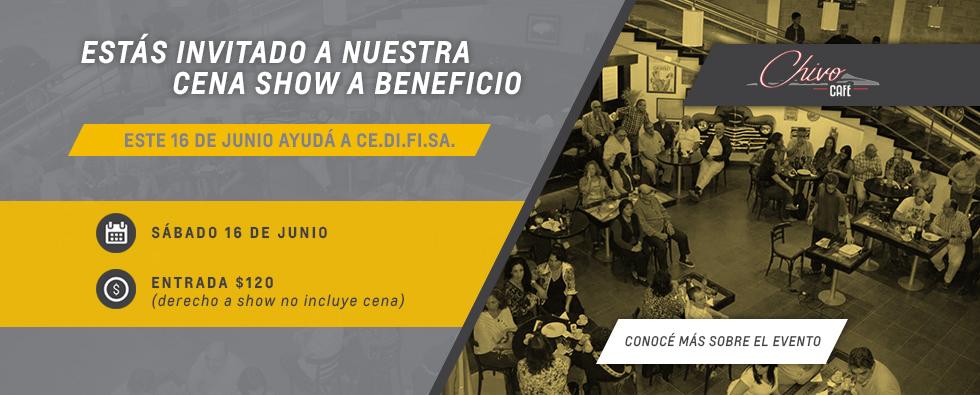 Cena Show en EL Museo Delia