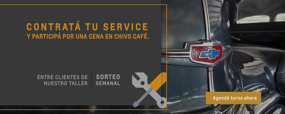 Agendá tu Servicio en Chevrolet Deliauto