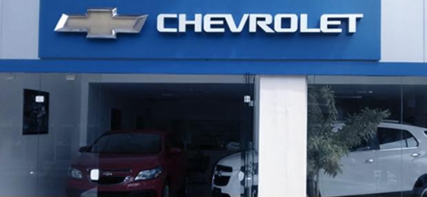 Fachada concessionária Chevrolet Carazinho Sarandi/RS história e contato