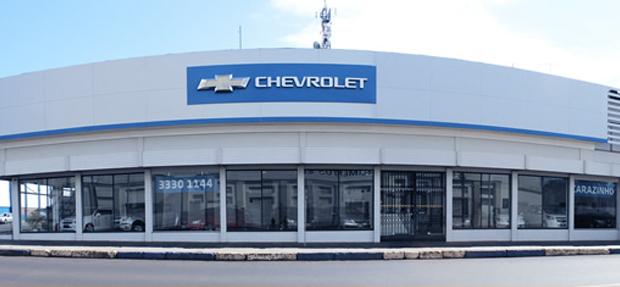 Fachada da concessionária Chevrolet Carazinho história e contato