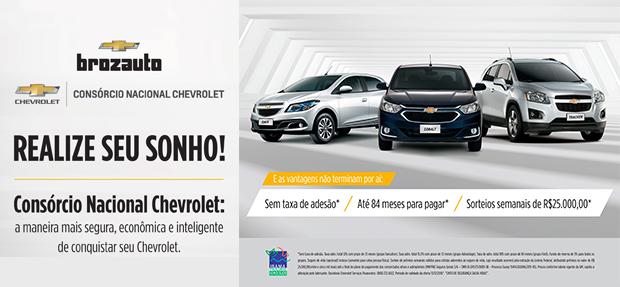 Comprar ou trocar carro novo ou seminovo, é com o Consórcio Chevrolet Brozauto