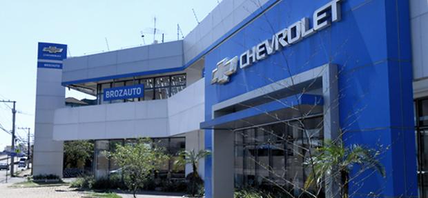 Fachada concessionária Chevrolet Gravataí/RS história e contato