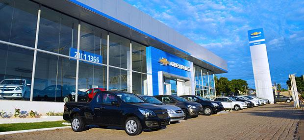 Fachada concessionária Chevrolet Novo Rio