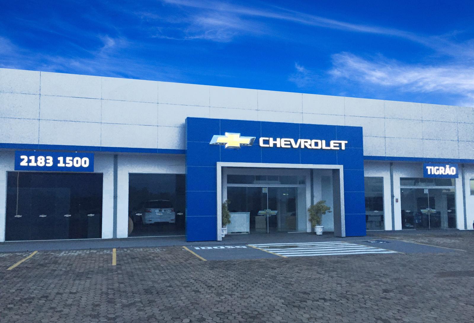 Fachada concessionária Chevrolet Tigrão