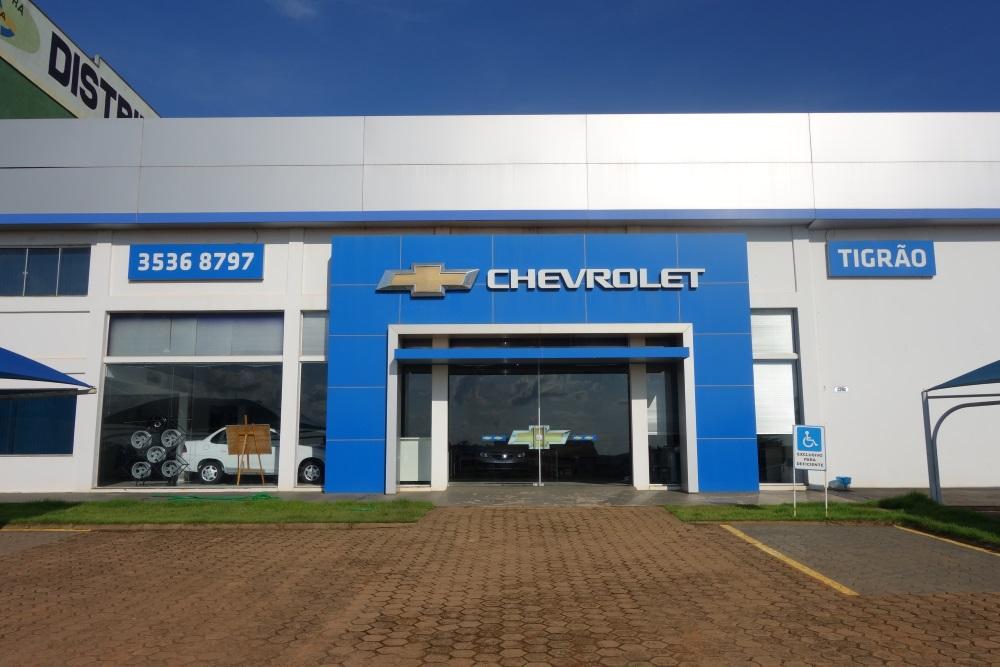 Fachada concessionária Chevrolet Tigrão Ariquemes