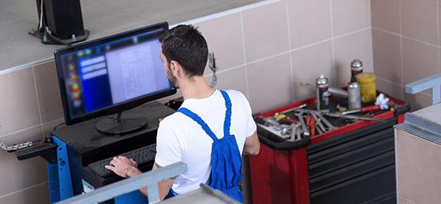 Serviços de manutenção e reparo para revisão de carros na concessionária Chevrolet Tigrão
