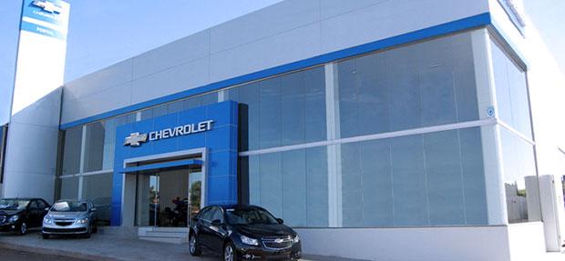 Fachada concessionária Chevrolet Pontal Nova Esperança Paraná