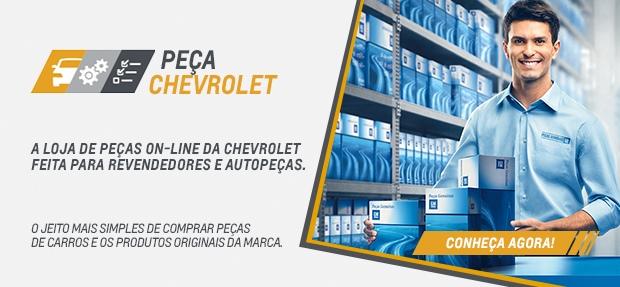 Compre peças genuínas GM online para carros Chevrolet