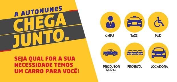 Comprar carros por vendas diretas Chevrolet na Autonunes Pernambuco