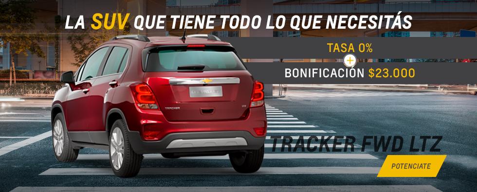 Oferta de Chevrolet Tracker en Milenaria