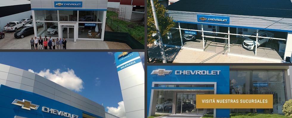 Aniversario Milenaria Concesionario Oficial Chevrolet en General Pico