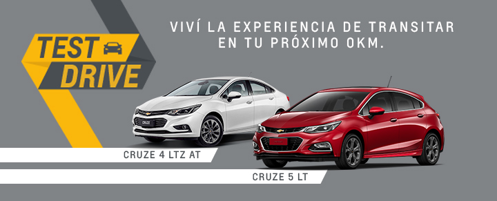 Chevrolet Test Drive en Beta Automotores