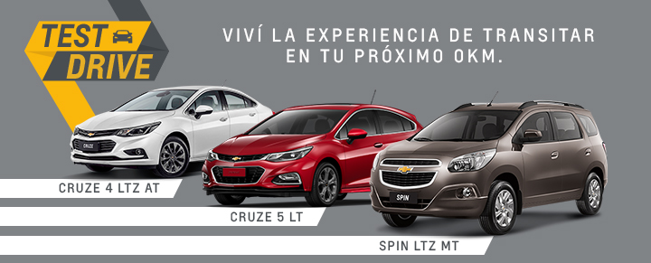 Chevrolet Test Drive en Beta Automotores