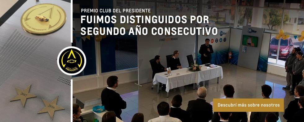 Club del presidente Araucar Motors - Concesionario Oficial Chevrolet