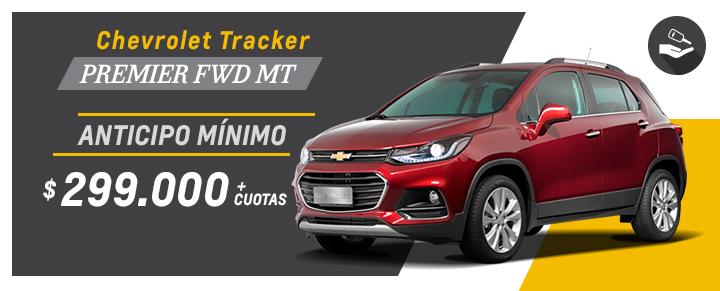 Oportunidad en Chevrolet Tracker en Araucar