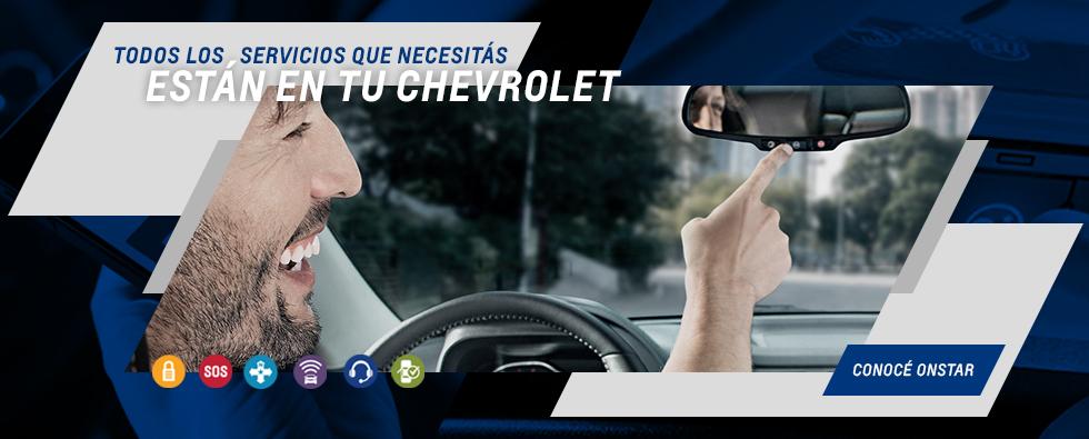 Chevrolet Onstar en Araucar Motors