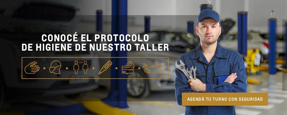 Protocolo de higiene en Taller Oficial Chevrolet en San Justo, La Matanza