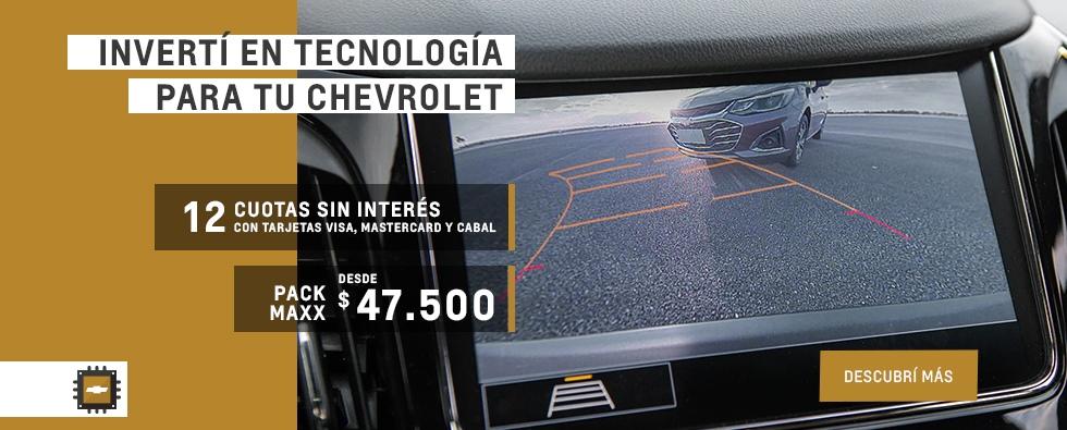 Pack Maxx de tecnología en Concesionario Oficial Chevrolet, San Justo, La Matanza