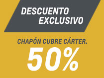 Oferta en Chapón Cubre Carter en Araucar Motors