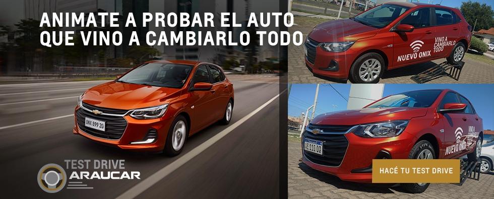 Test Drive Nuevo Onix, Concesionario Oficial Chevrolet San Justo La Matanza