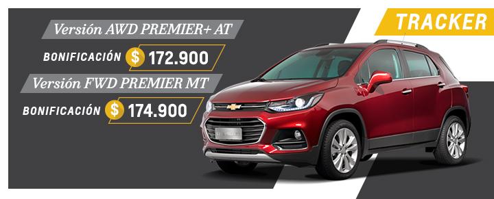 Oferta en Chevrolet Tracker de Araucar Motors