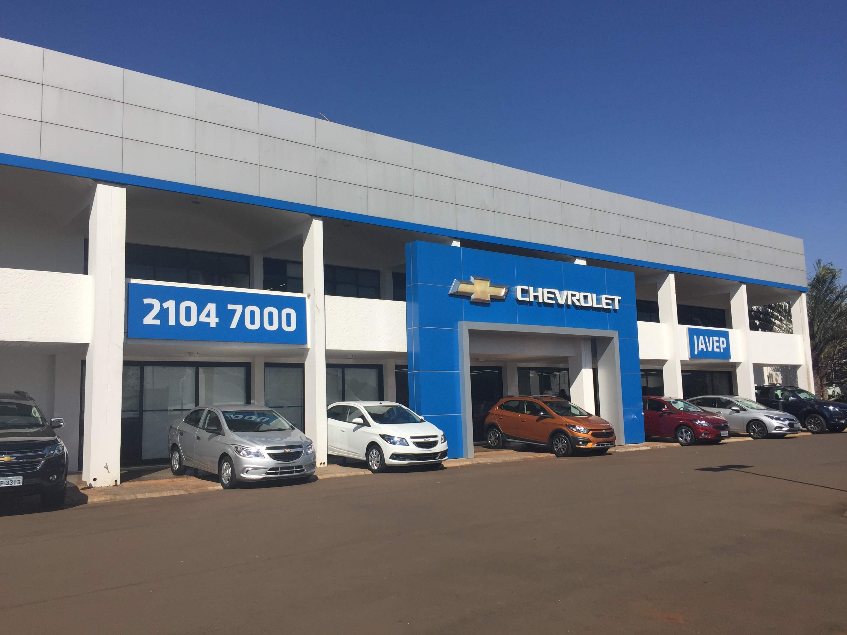 Fachada concessionária Chevrolet Javep