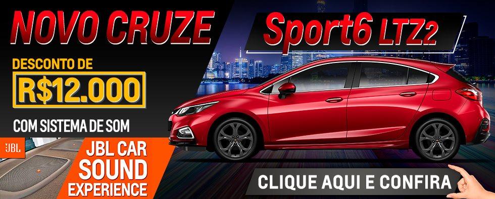 Banner site - Novo Cruze Sport6 - novembro 18