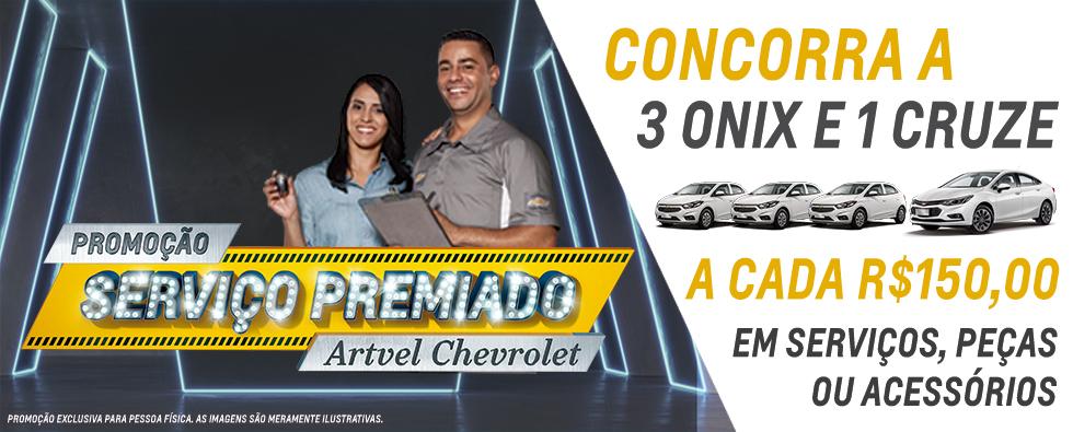 Serviço premiado Artvel Chevrolet