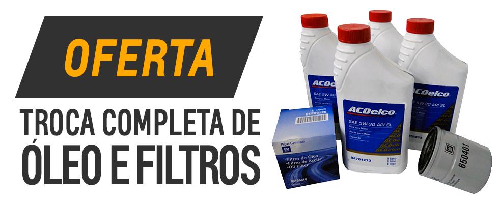 Troca de oleo e filtros