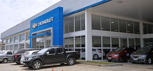Fachada concessionária Chevrolet Caxangá