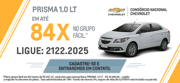 Comprar carro novo ou trocar seminovo consórcio de carros concessionária Chevrolet Caxangá