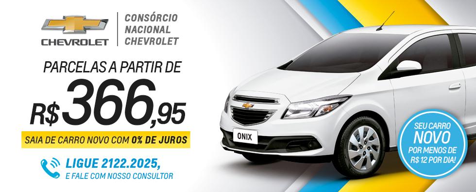 Consórcio Nacional Chevrolet comprar carro novo 0% juros mês