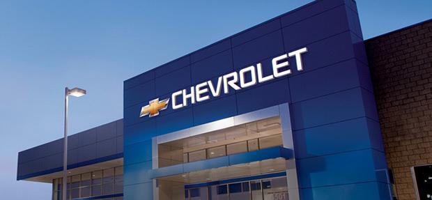 Fachada concessionária Chevrolet Pretto