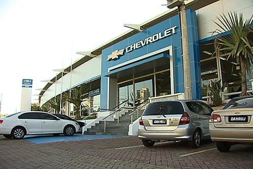 Fachada concessionária Chevrolet Dahruj