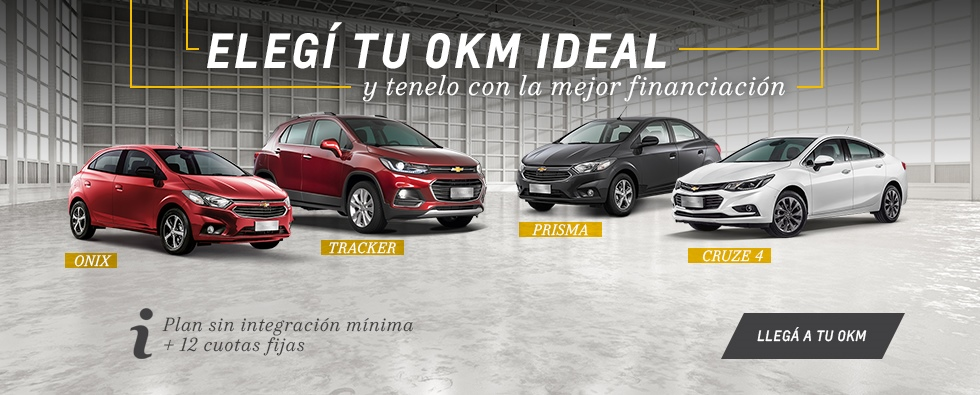 Plan Chevrolet en Yacopini Motors