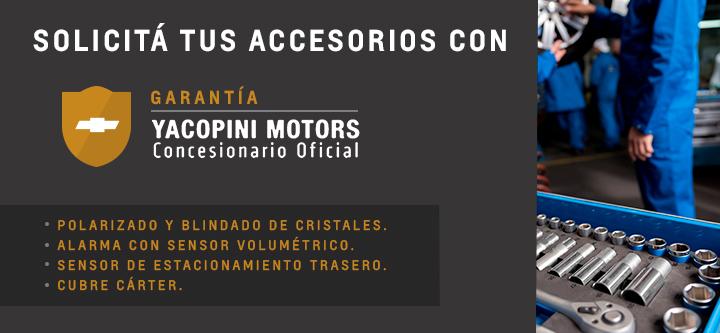 Accesorios Originales Chevrolet en Concesionario Oficial de Mendoza